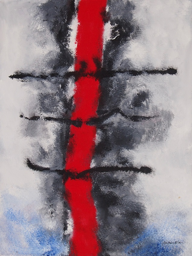 acryl op linnen 60x80 cm
