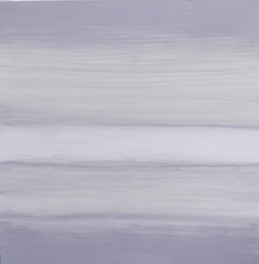 Vele tinten grijs 1 - acryl op linnen 80x80 cm