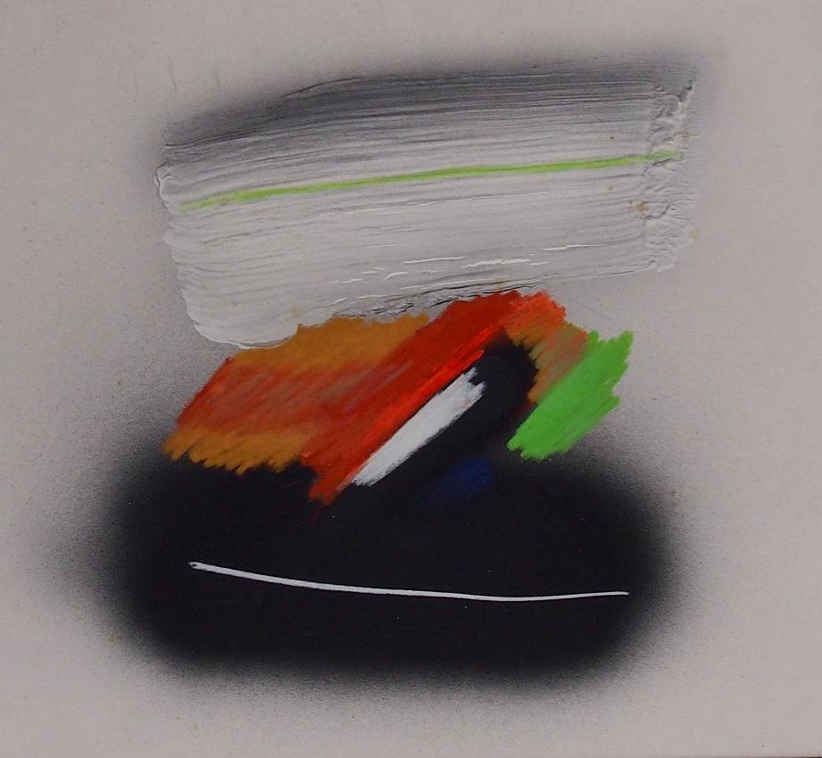 acryl op papier 50x60 cm
