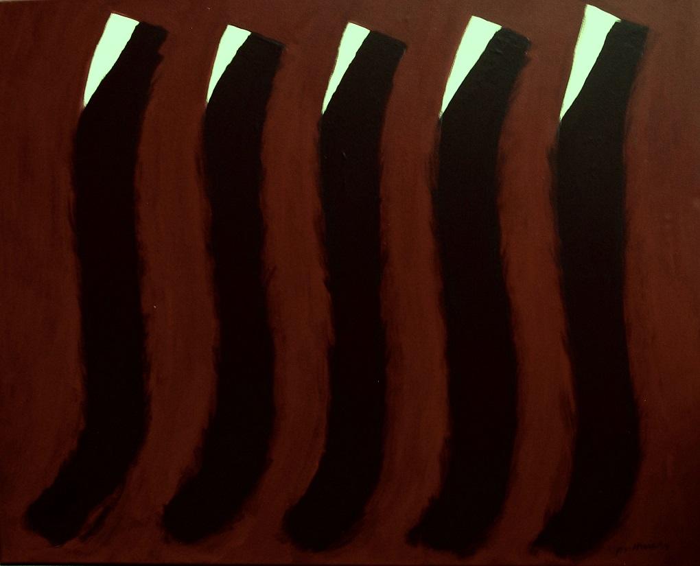 acryl op linnen 80x100 cm