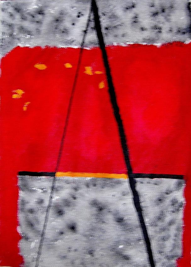 acryl op papier 50x65 cm