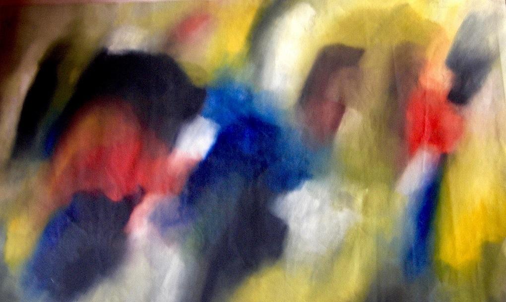 acryl op canvas 70x100 cm