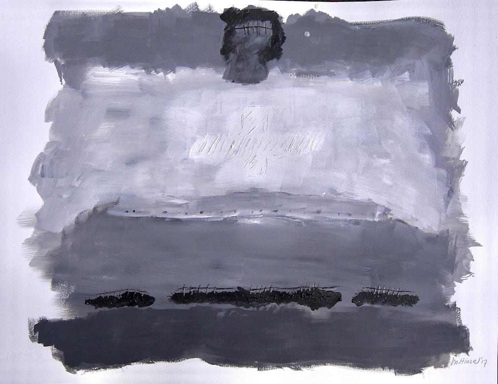 acryl on paper 50x65 cm